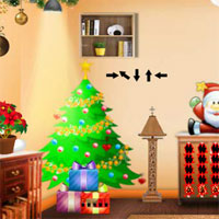 Free online flash games - Top10 Find the Santa Bag game - WowEscape