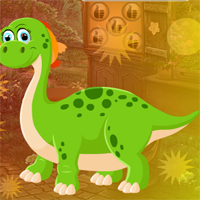Free online flash games - Games4King Dinosaur Cub Escape game - WowEscape