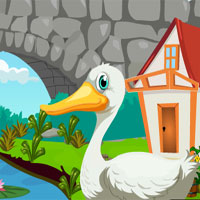 Cute Swan Rescue Games4Ki…