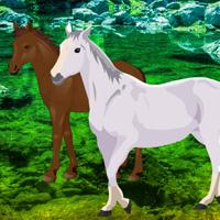 Free online flash games - Big Horse Land Escape game - WowEscape