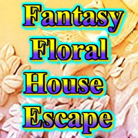 Free online flash games - Fantasy Floral House Escape