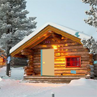 Free online flash games - GFG Winter Cabin Christmas Celebration Escape