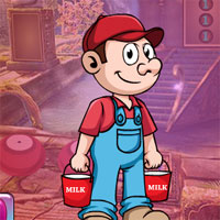 Free online flash games - G4K Dairyman Escape