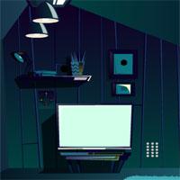 Free online flash games - GFG Attic Room Night Escape game - WowEscape