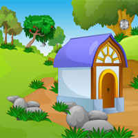 Free online flash games - Garden Hut Escape