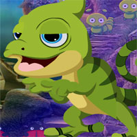 Free online flash games - G4k Chameleon Rescue