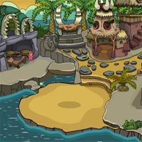 Free online flash games - Games2Jolly Escape The Crocodile From Cave