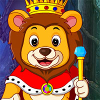 Free online flash games - G4K Monarch Lion Rescue Escape