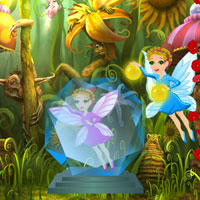 Free online flash games - Butterfly Crystal Fairy Escape game - WowEscape
