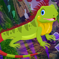Free online flash games - Lizard Rescue