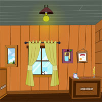 Free online flash games - Wooden Room Escape TollFreeGames