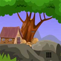 Free online flash games - GamesZone15 Mud House Rabbit Escape