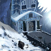 Free online flash games - EnaGames The Frozen Sleigh-Creepy Castle Escape game - WowEscape