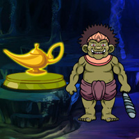Free online flash games - Fantasy Magical Lamp Escape game - WowEscape