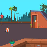 Free online flash games - Terrace escape