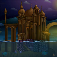 Free online flash games - Ena The Circle Deep City Escape