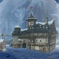 Free online flash games - EnaGames The Frozen Sleigh-The Snow Globe House Es game - WowEscape