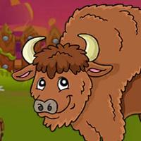 Free online flash games - G2J The Bison Escape