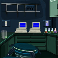 Free online flash games - Experimental Laboratory Escape