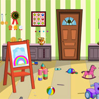 Kids Play Room Escape KnfGame