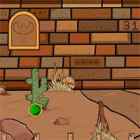 Free online flash games - Games2Jolly Desert Baby Rescue game - WowEscape
