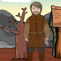 Free online flash games - Games2Jolly Bearded Man Rescue game - WowEscape
