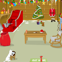 Free online flash games - REPLAY Hell Rat and Heaven Cat-Christmas game - WowEscape