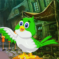 Free online flash games - G4K Bird Rescue From Old House  game - WowEscape
