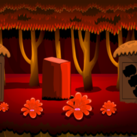 Free online html5 games - G2M Colorful Forest Escape game