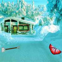 Free online flash games - Big Winter Christmas Forest game - WowEscape