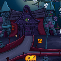 Free online flash games - Ena Halloween House