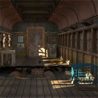 Free online flash games - Abandoned Goods Train 4 game - WowEscape