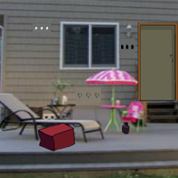 Free online flash games - GFG Backyard Deck Escape