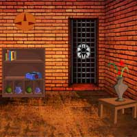 Free online flash games - Red Brick House Escape Games4Escape