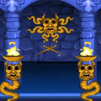Free online flash games - Games4Escape Snake Temple Escape game - WowEscape