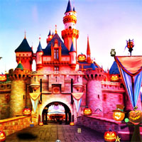 Free online flash games -  Top10NewGames Disneyland Halloween Escape