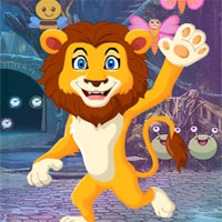 Free online flash games - G4K Prince Lion Rescue