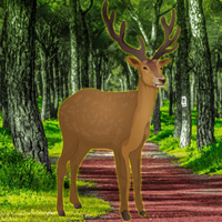Free online flash games - Bigescapegames Trapped Deer Rescue