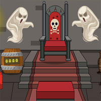 Free online flash games - GenieFunGames Genie Vampire House Escape game - WowEscape
