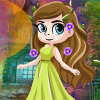 Free online flash games - Paradise Angel Escape