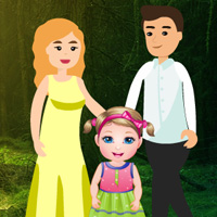 Free online flash games - Rescue Little Girl in Forest game - WowEscape