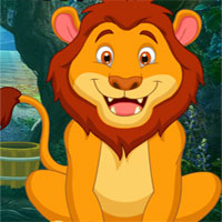 Free online flash games - G4k Find Watching Lion