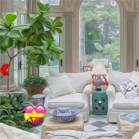 Free online flash games - Sunroom Fun Escape