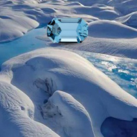 Free online flash games - Escape from Glacier Iceland Water