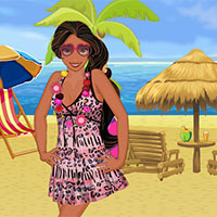 Free online flash games - Princess Elena In Beach