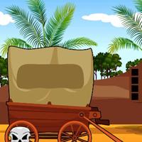 Free online flash games - G2J Desert Cottage Escape game - WowEscape