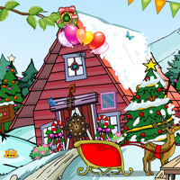 Free online flash games - Rescue Santa Escape