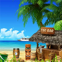 Free online flash games - Tiki Beach Escape
