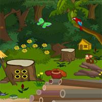 Forest Wooden Hut Escape 1