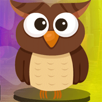 Free online flash games - Games4King Brown Owl Escape game - WowEscape